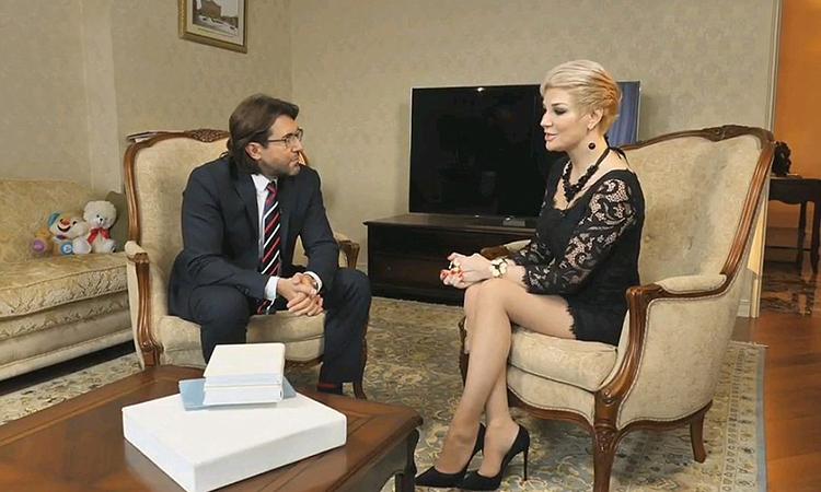 Мария Максакова дала интервью российскому телеканалу