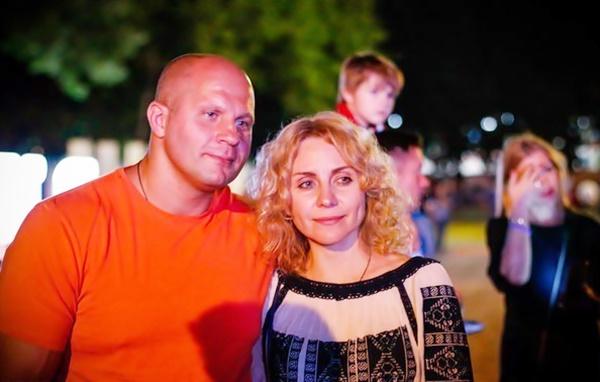 Федор Емельяненко: жены и дети, отношения с братом