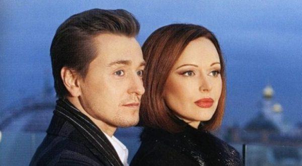 Безруков Сергей и его новая жена, дети
