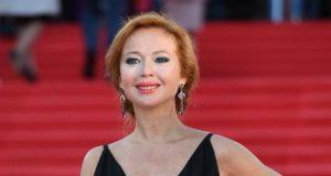 Елена Захарова впервые вышла в свет после родов
