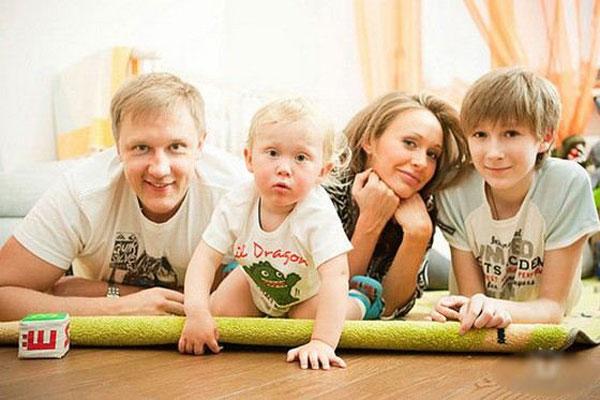 Сергей Горобченко: фото с женой и детьми