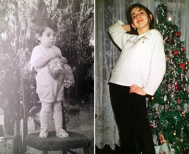 Анжелика Каширина в детстве