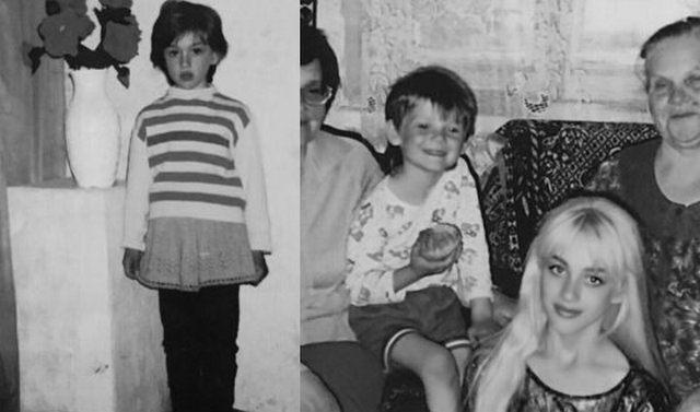 Франц в детстве