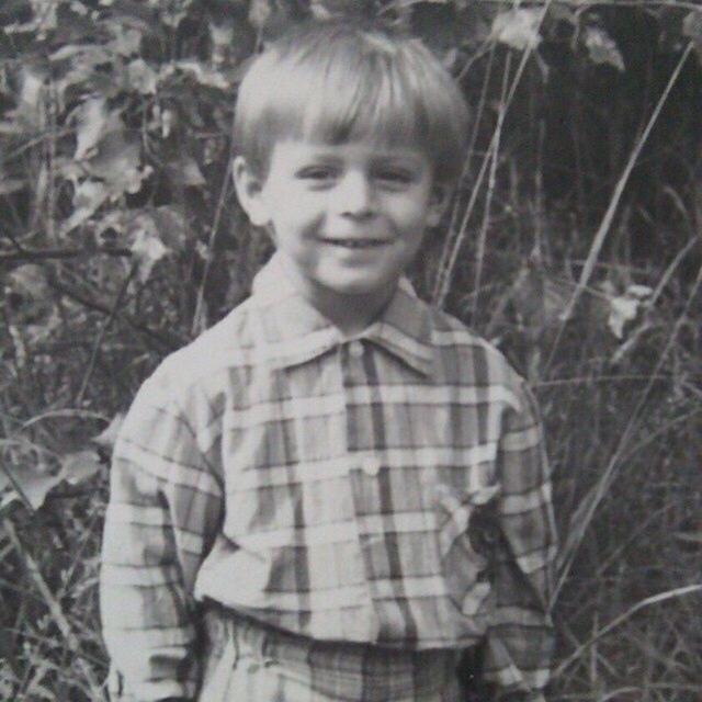 Константин Давыдов в детстве