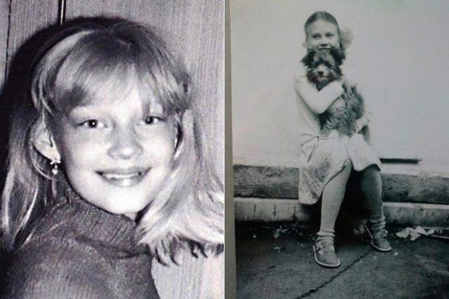 Светлана Ходченкова в детстве