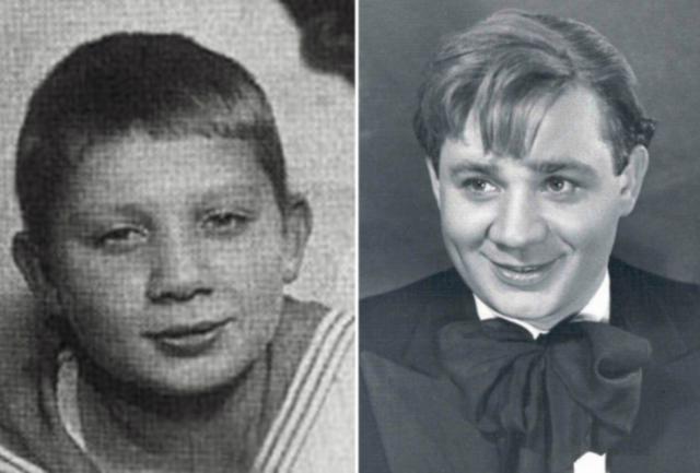 Евгений Леонов в детстве